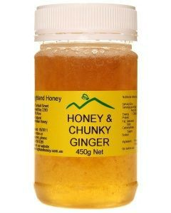 Honey with Chunky Ginger