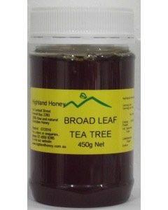 Broad Leaf Tea Tree Honey