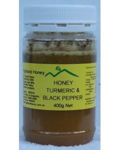 Honey Turmerice Black Pepper