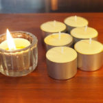 Beeswax Tealight Candles