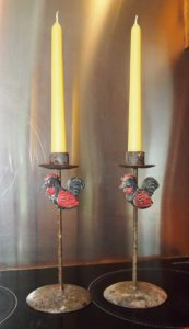 Bees Wax Taper Candles